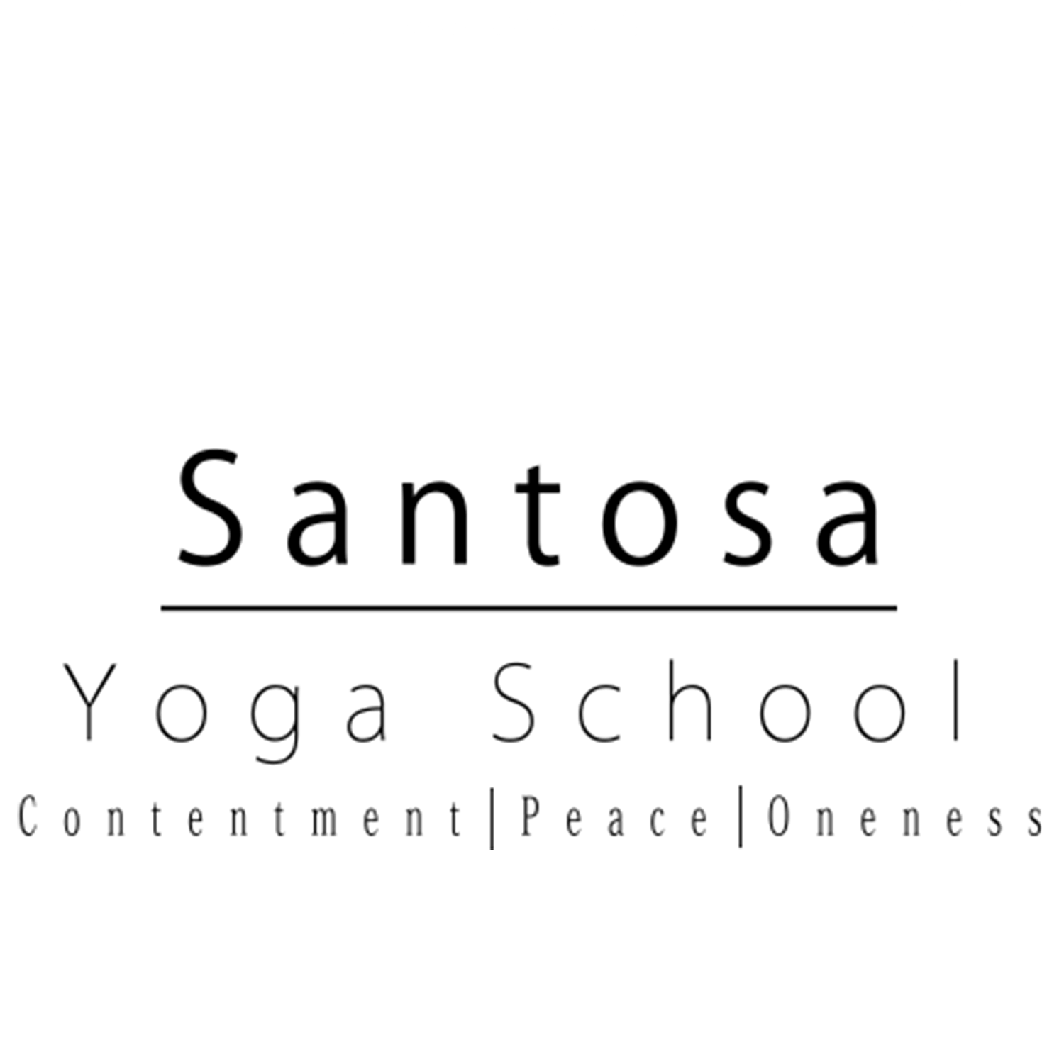 Santosa Yoga School another logo